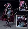 "WOW Darkness Guardabosques Lady Sylvanas Windrunner 7 ""Acción PVC Figure Collection Modelo de Juguete"