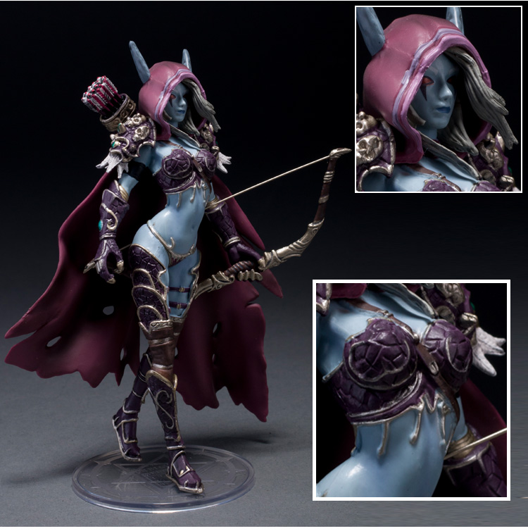 WOW Darkness Ranger Lady Sylvanas Windrunner 7 PVC Action Figure Collection Model Toy world of warcraft wow pvc action figure display toy doll forsaken queen sylvanas windrunner