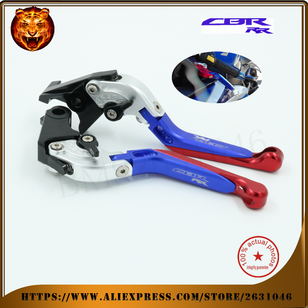For HONDA CB919 CBR600 F2 F3 F4 F4i CBR900RR  CB599 CB600 HORNET Motorcycle Adjustable Folding Extendable Brake Clutch Levers