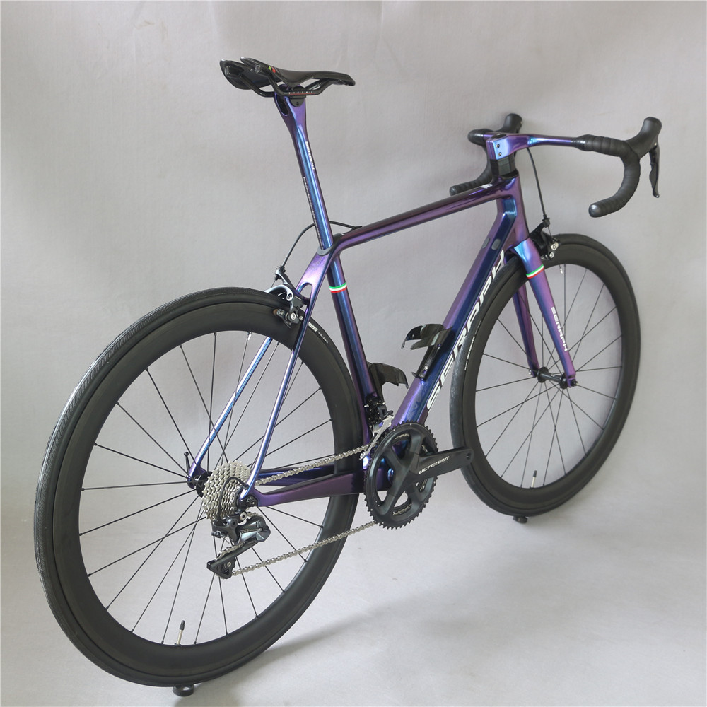 HTB14XV9dBGE3KVjSZFhq6AkaFXaq - Superlight carbon highway full bike FM629 toray carbon fiber t800 22 pace with Shimao R8000 groupset  chameleon paint bicycle