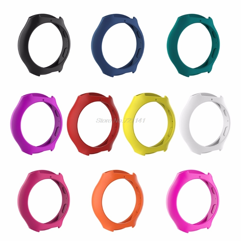 Soft Silicone Protector Cover Case For Samsung Galaxy Gear S2 SM-R720 & SM-R730 Electronics Stocks Dropship