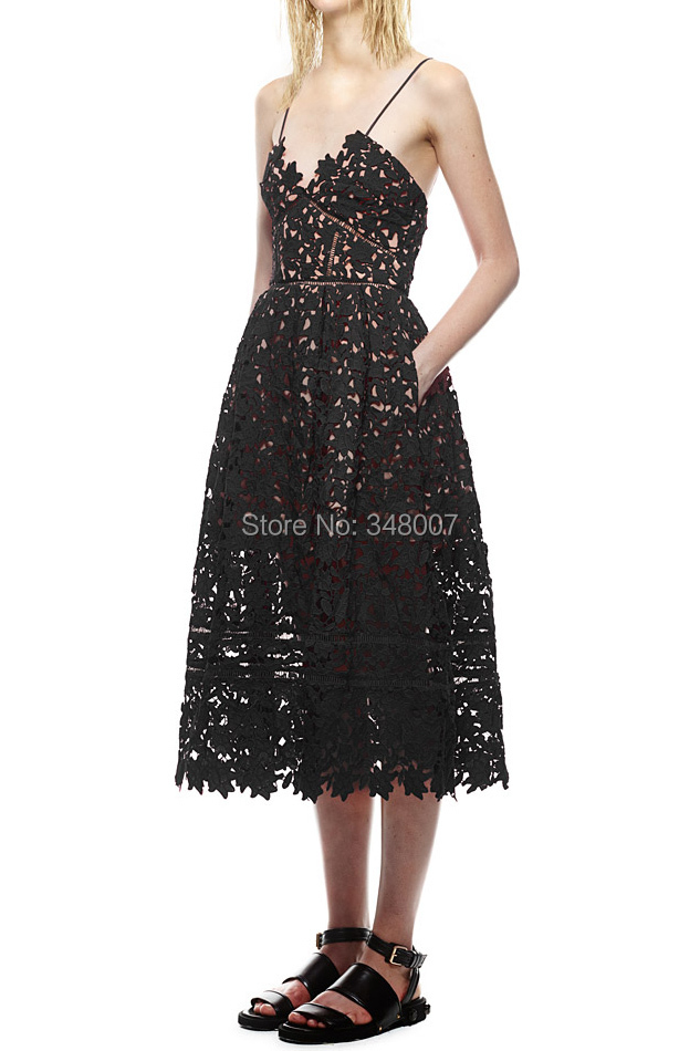 f876d2ae2bc11 New Arrival Fashion Designed Free Shipping Self Portrait Azaelea Dress In  Black