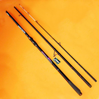4.2M 3 sections SURF ROD Carbon fishing rod Distance Throwing Rod Intervene throw Anchor rod SIC rings GAN058