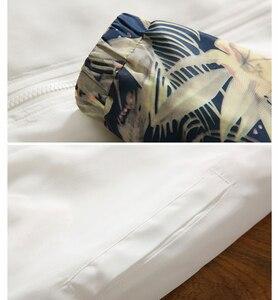 Image 5 - Chaquetas con capucha para mujer, chaqueta cortavientos informal Floral para primavera y otoño del 2020, chaquetas básicas y abrigos chaquetas ligeras con cremallera para mujer