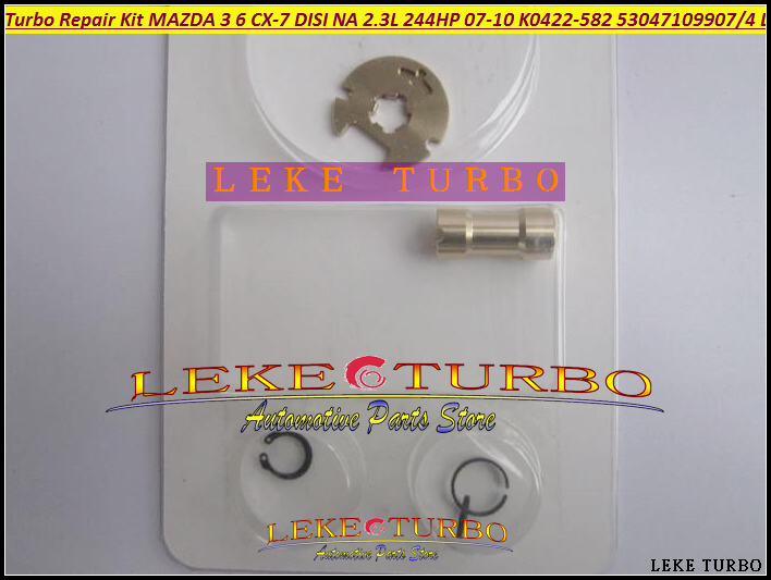 Free Ship Turbo Repair Kit rebuild K0422-582 53047109904 L33L13700C Turbocharger For Mazda 6 3 For Mazda CX-7 07- MZR DISI 2.3L turbo rebuild repair kit bv43 53039880122 53039880144 53039700144 28200 4a470 282004a470 for kia sorento 2001 06 d4cb 2 5l crdi