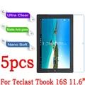 """11.6 """"de alta claro mate nano a prueba de explosiones protector de pantalla para teclast tbook 16 s tablet pc película protectora (vidrio no templado)"""