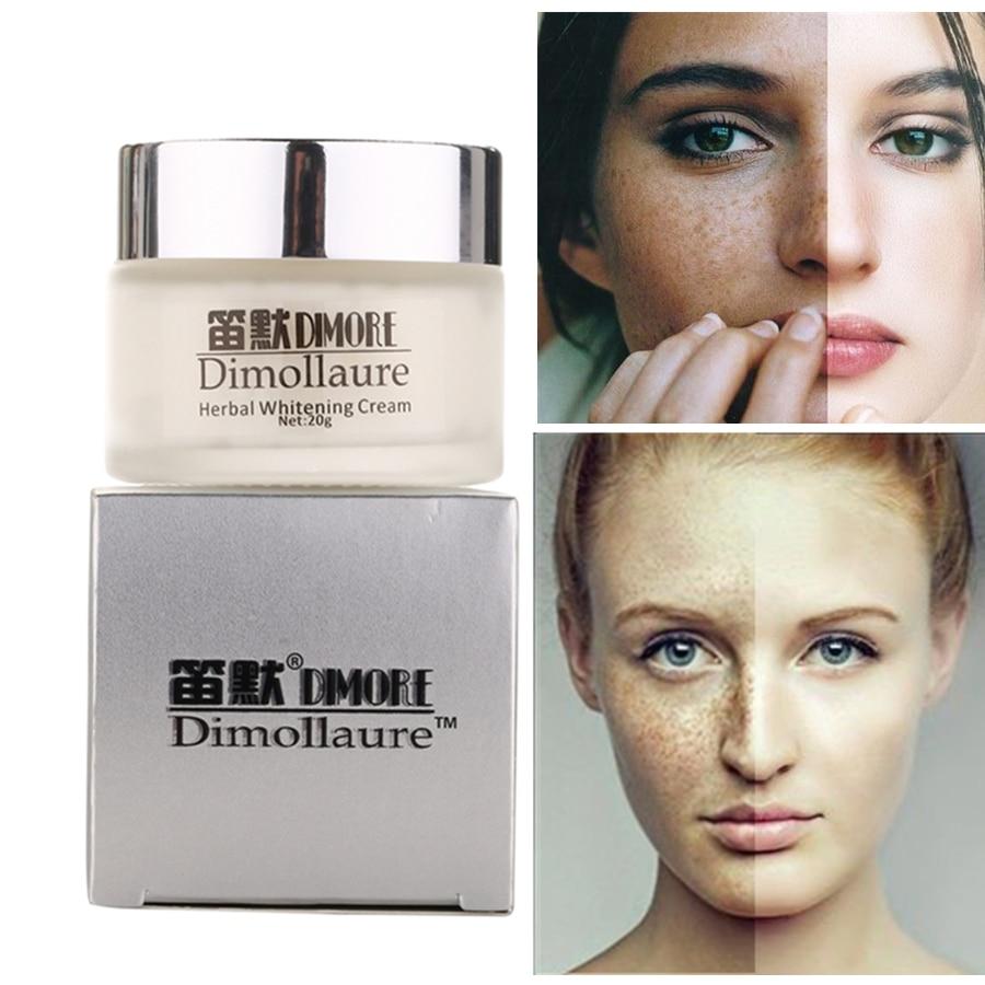 Dimollaure Strong effect whitening cream 20g Removal Freckle melasma pigment Melanin sunburn Pregnancy spots Acne brown Spots
