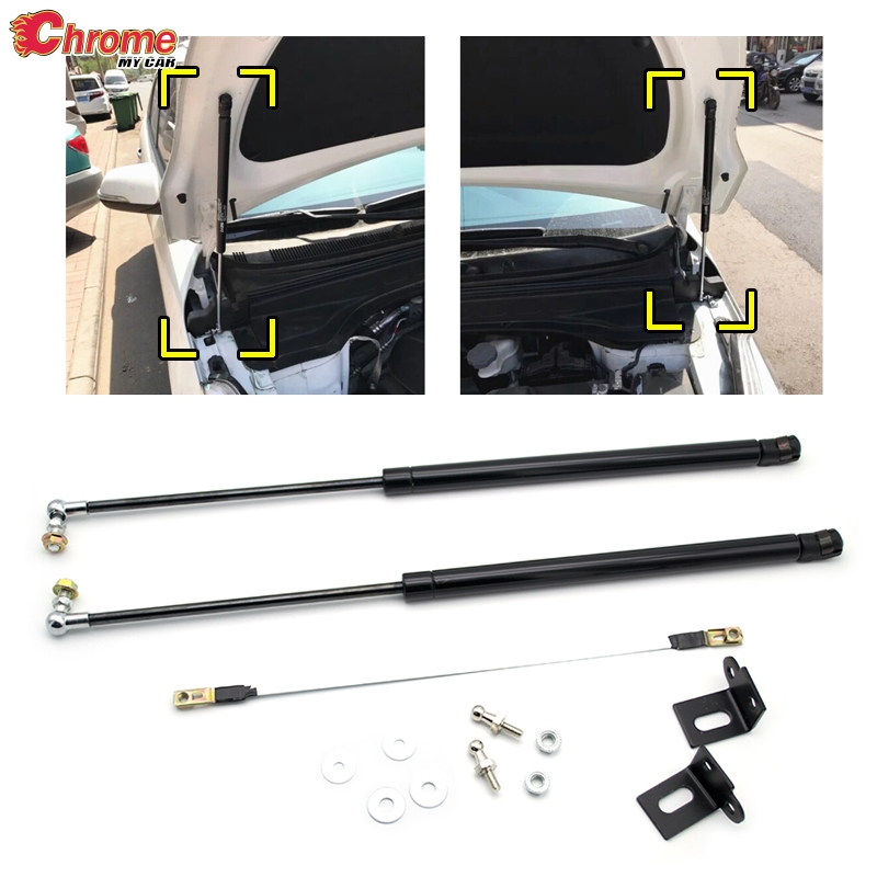 Front Engine Cover Support Rod Hydraulic Hood For HYUNDAI TUCSON 2015-2018 New