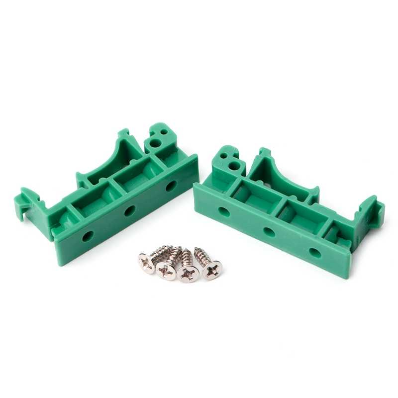 PCB 35mm DIN Rail Mounting Adapter Circuit Board Bracket Holder Carrier Clips Apr