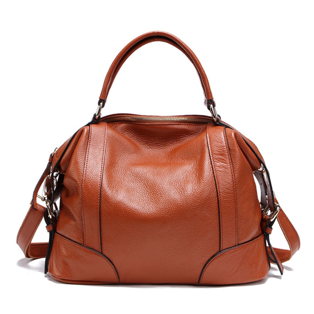 ZENTEII Women Genuine Leather Shoulder Bag zenteii women faux synthetic leather pu backpack