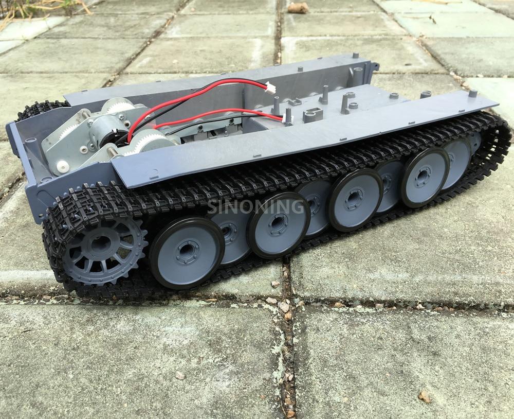 Supper big Robot Tank Chassis Crawler Smart robot platform henglong 3818 large damping suspension SN2000