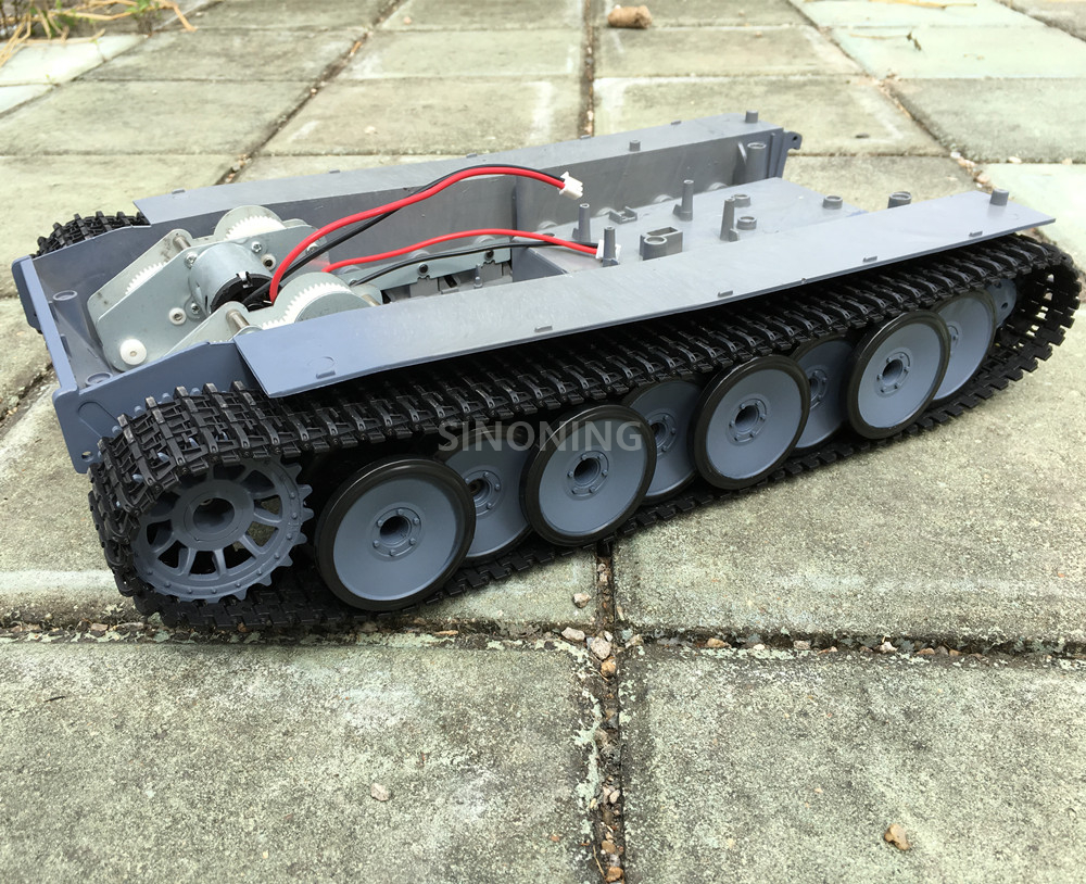 Supper big Robot Tank Chassis Crawler  Smart robot platform henglong 3818 large damping suspension SN2000 lonely robot lonely robot the big dream 2 lp cd