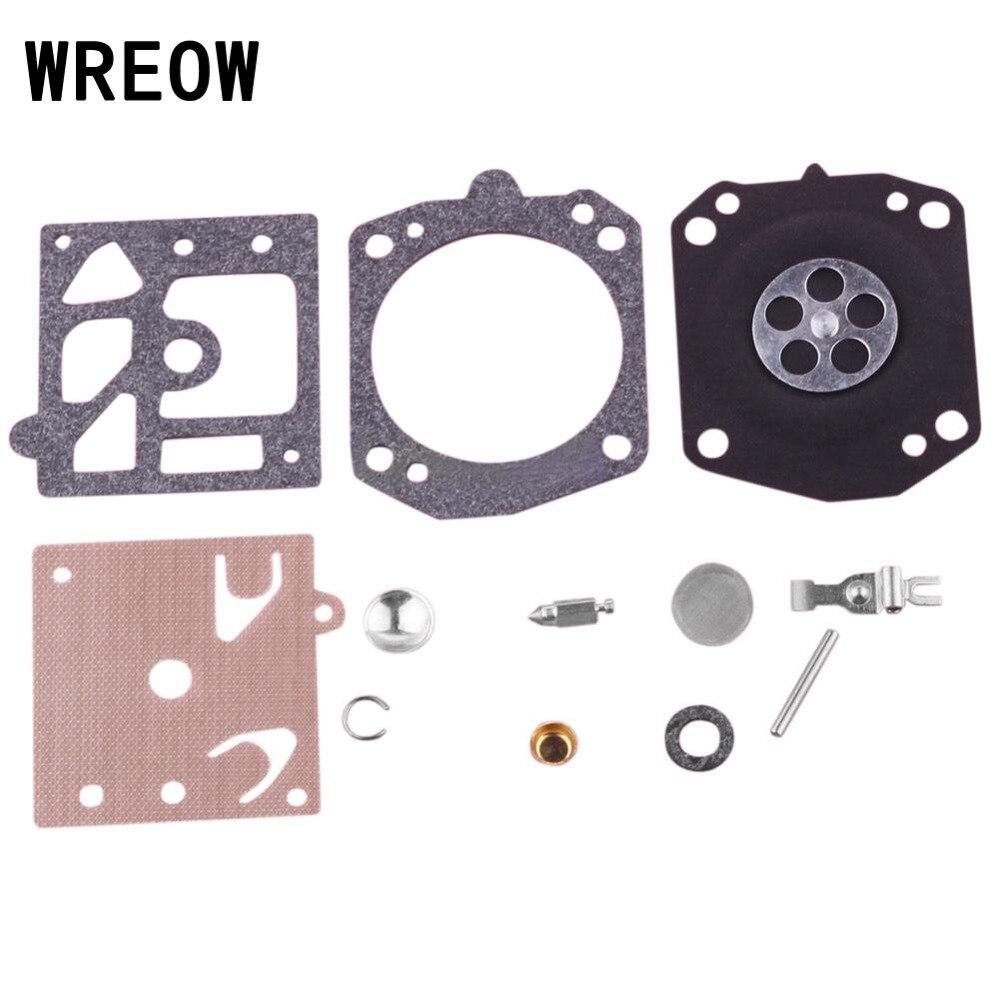 Chainsaw Carburetor Repair Kit Carb Repair Gasket Diaphragm Kit Fit For K22-HDA Chain Saw Carbs Diaphragm Gasket Replacement