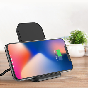 Image 2 - Ascromy Qi Draadloze Oplader Voor iPhone X XS Max XR 8 Plus Samsung S10 Docking Station Telefoon Houder Stand Snelle charger Inductie
