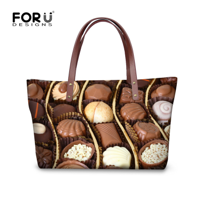 Women Famous Brand Handbags Vintage Messenger Bag Chocolate Printed Large Capacity Shoulder Lady Casual Tote Bolsas Mujer In Top Handle Bags From