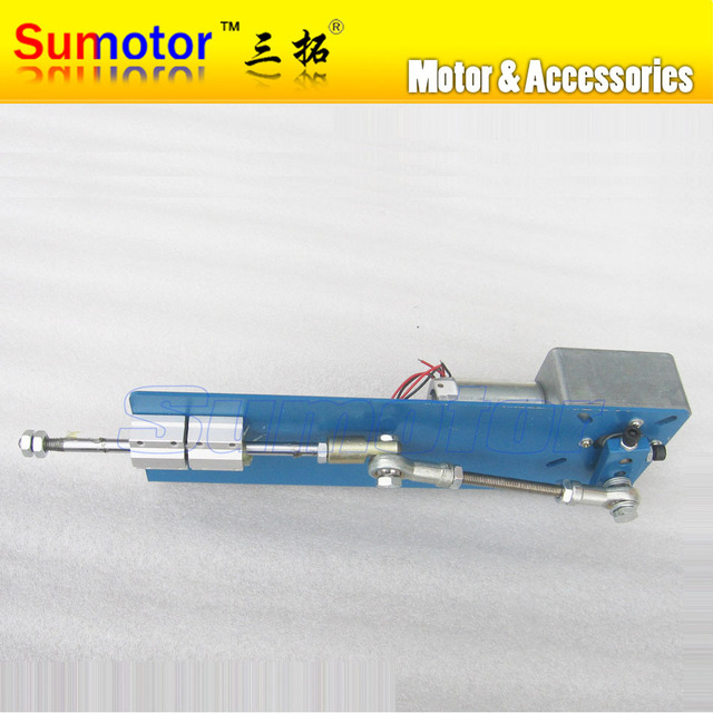 US $126 0  DC 12V 10W 24V 15W 20 30 50 70mm Automatic Linear actuator  reciprocating motor Variable for Vibrating screen Shale shaker parts-in DC  Motor
