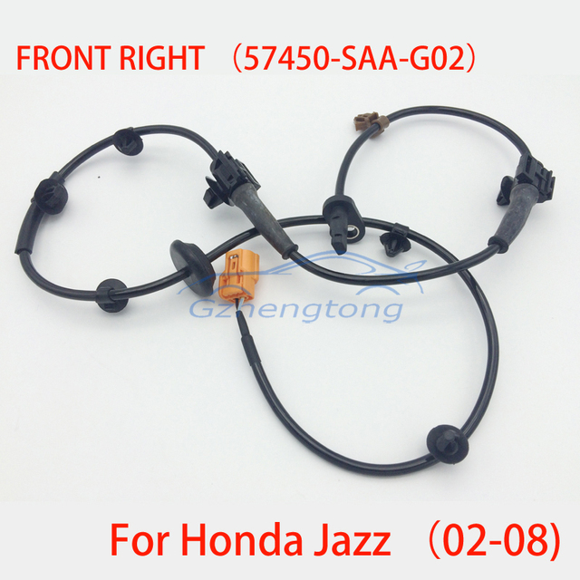 ABS WHEEL SPEED SENSOR FOR HONDA JAZZ II (GD) 2002/03 - 2008/10 57450-SAA-G02/57450-SAA-G01 57450-SEL-P02