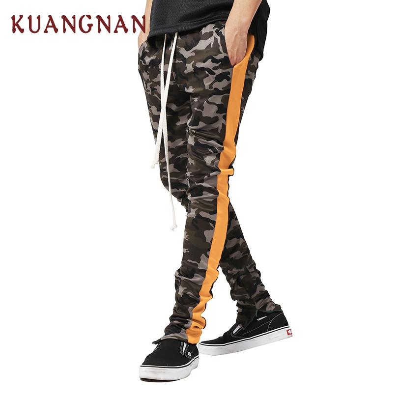 KUANGNAN Men Pants Camouflage Joggers Japanese Streetwear Clothing Casual Hip-Hop XXXL