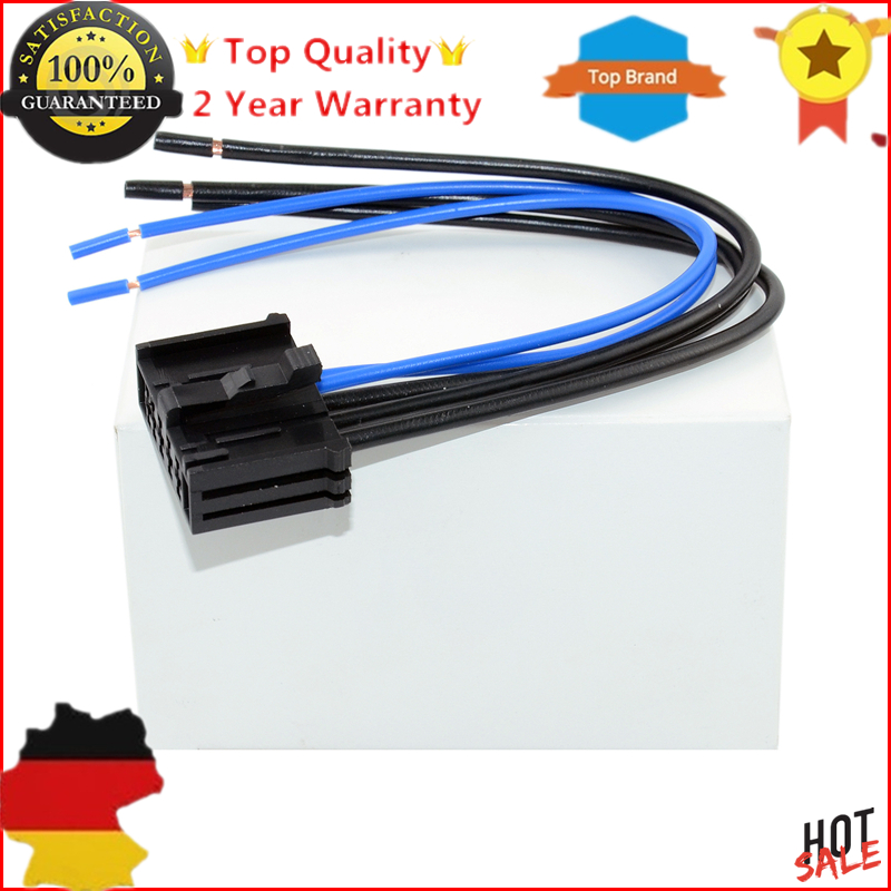 For Peugeot 206 307  For Citroen C3 Xsara Heater Fan Resistor Wiring Harness Connector Loom