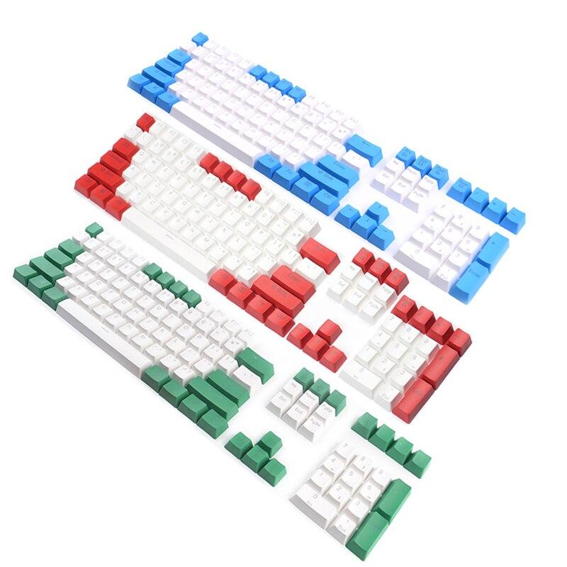 PBT Keycaps Backlit Top Print 108Keys Cherry MX Key Caps Para - Periféricos de la computadora - foto 4