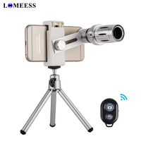 NEW Universal HD 12X Zoom Optical Telephoto Telescope Mobile Camera Lens With Universal Clip For Iphone