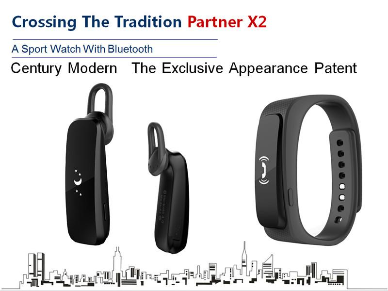 X2 earphone smartband 02