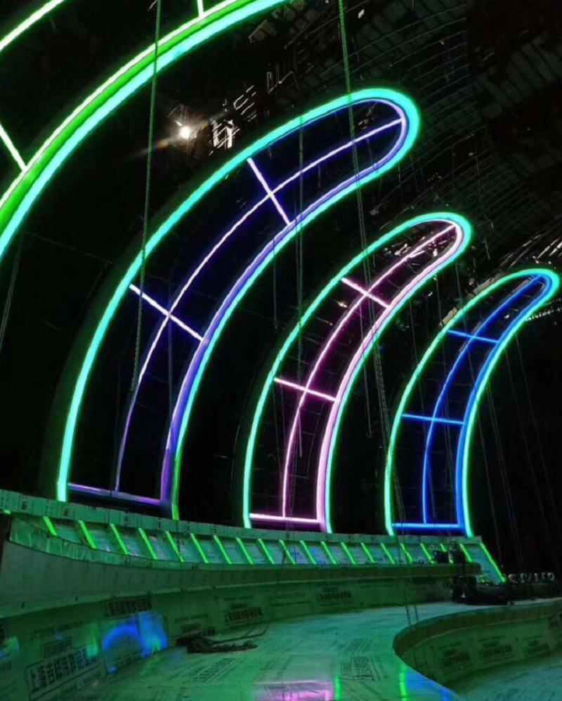 2835 SMD IP65 LED Neon Rope Light Flex Silicone Strip Light DC12V Soft DIY Indoor Outdoor Lighting Advertising Decoration