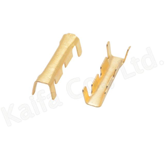 100pcs/lot  453 U-shaped terminal tab cold inserts connectors cold terminal small teeth fascia  terminal,0.5-1.5mm2