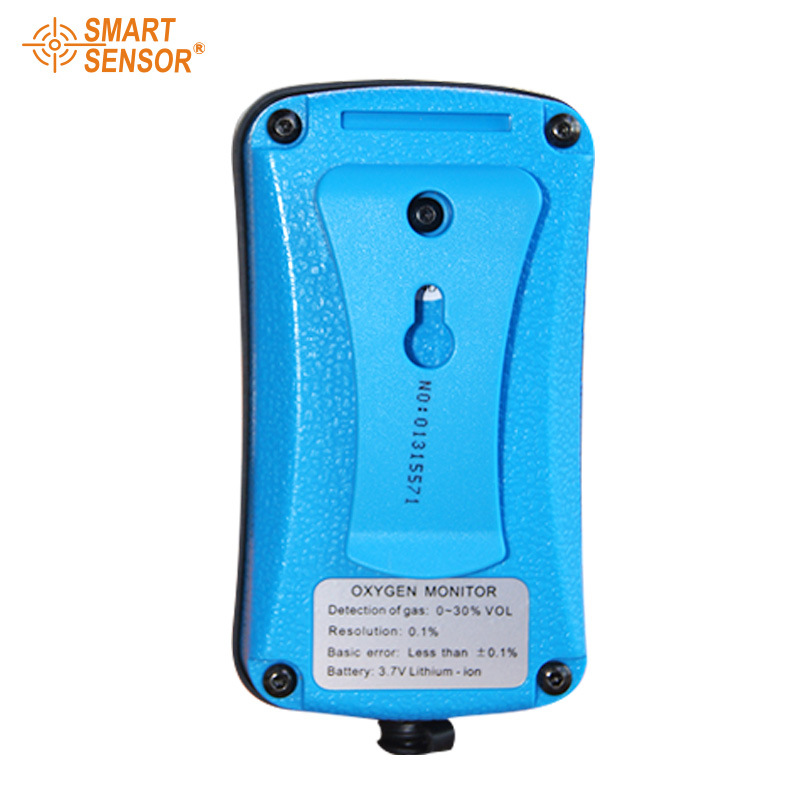 Portable Riot control oxygen gas analyzer O2 AS8901 concentration content measuring instrument detector tester (4)