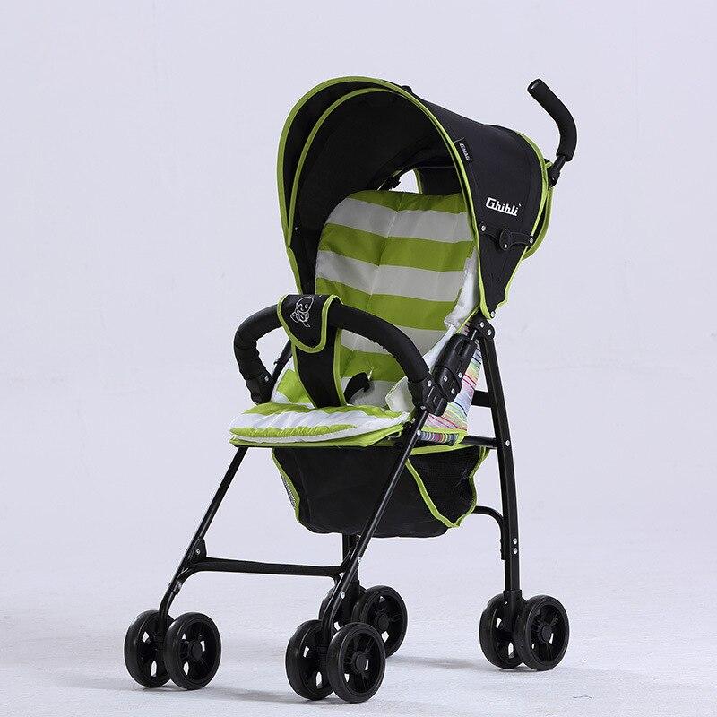 цена Baby stroller baby stroller lightweight folding children's trolley baby stroller baby stroller