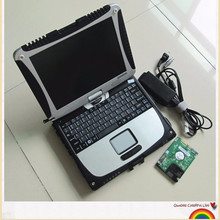 for Panasonic Toughbook cf 19 (Rugged,Touchscreen) Car Diagnostic Laptop with mb star c4 software HDD V2017.07 mb sd c4