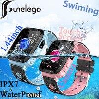 Funelego IP67 Deep Waterproof Kids GPS Smart Phone Watch For Children Water Resistant Watch Phone Baby Swimming SeTracker PK Y03