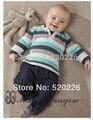 2017 Novo roupas de bebê menino definir algodão roupa Do Bebê set Longo Camisas de manga T + Calças Conjuntos de Roupas 2 pcs meninos roupas de Bebê conjunto