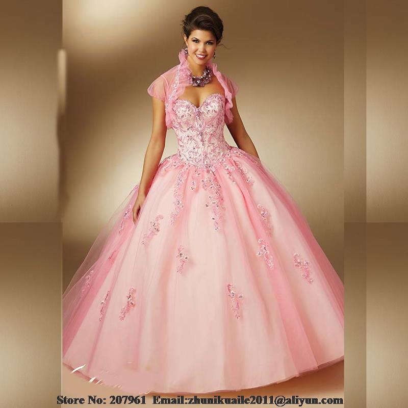 Popular Vintage Pink Quinceanera Dresses-Buy Cheap Vintage Pink ...