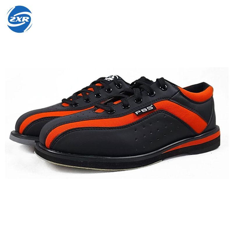 Nero rosso scarpe da bowling unisex essenziale principianti con scarpe sportive di alta qualità di una coppia di modelli uomini donne scarpe da ginnastica
