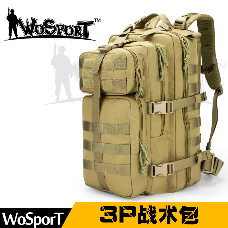 WoSporT outdoor hiking backpack waterproof camping travel hiking army fan  tactical 3P attack MOLLE package - aliexpress.com - imall.com 48b202bd62841