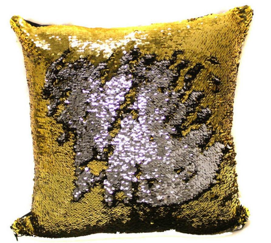 BeddingOutlet Mermaid Sequin Cushion Cover Magical შეცვლა - სახლის ტექსტილი - ფოტო 6