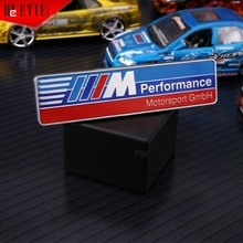 2016 ETIE M Performance ABS 3D Emblem Motorsports Body Badge Parts Racing Decal Wrap Automotive Accessories Car Styling Vehicle