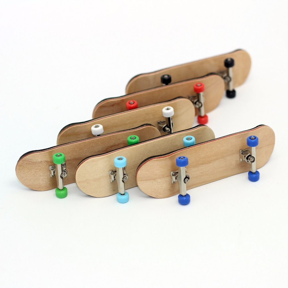 High Quality Wood MINI Finger Skateboards Toys For Children Finger Skate Board