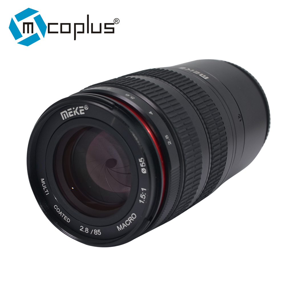 Meike 85mm F/2.8 Super Moyen Téléobjectif Macro Plein Cadre APS-C pour Fuji Fujifilm X-mount X-Pro2 X-T3 X-T20 Sans Miroir caméra