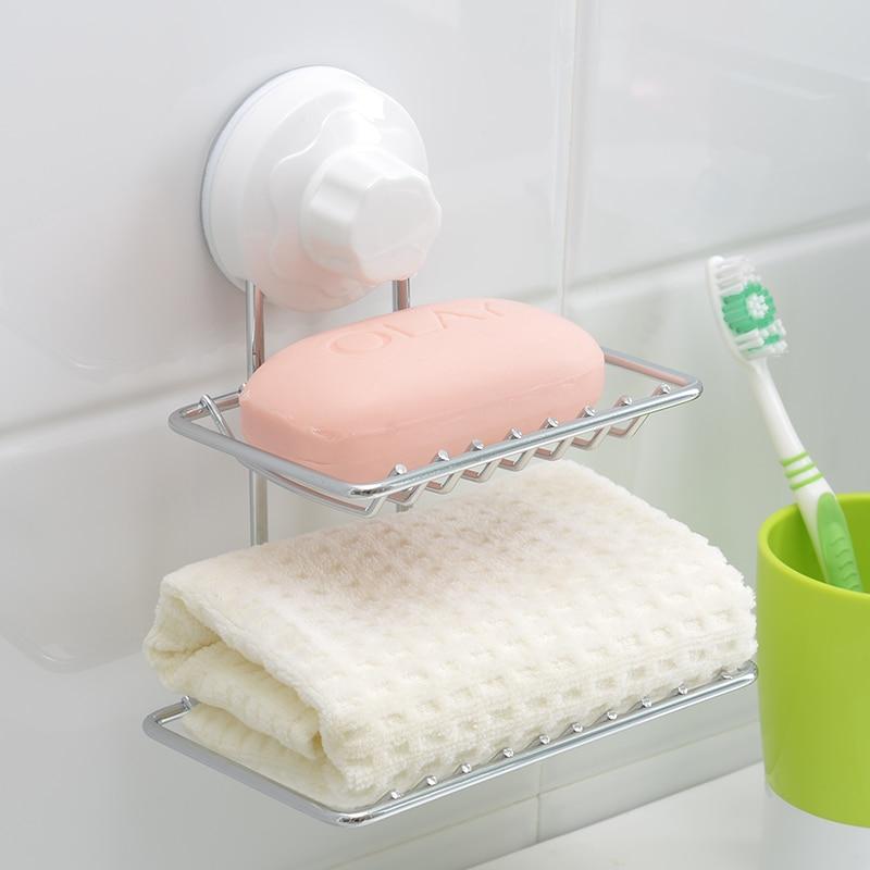 Cupsful szappan doboz dupla rétegű szappan tartó rozsdamentes - Szervezés és tárolás