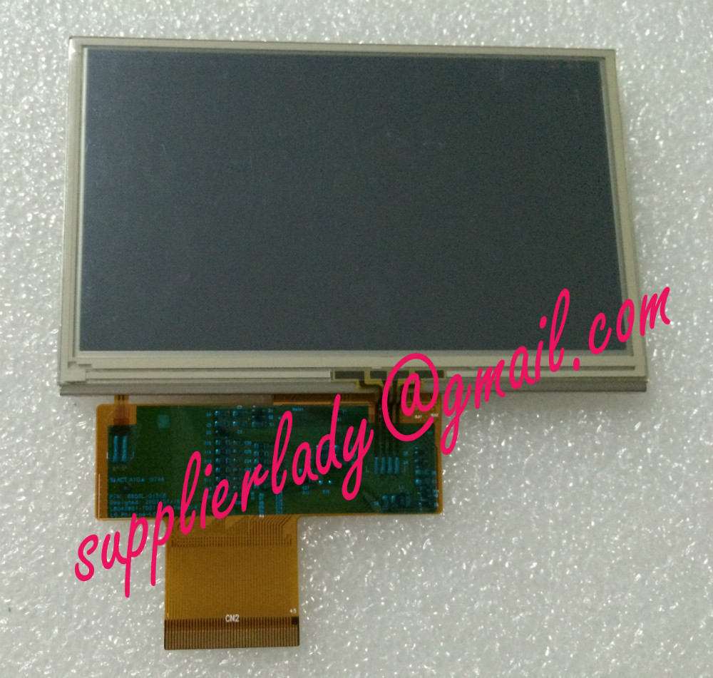 Original And New 4.3inch 45pin LCD Screen With Touch Screen LB043WQ1(TD)(01) LB043WQ1-TD01 LB043WQ1 Free Shipping