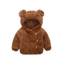 Baby Jacket Winter Infant Girls Clothes Newborn Warm Clothin