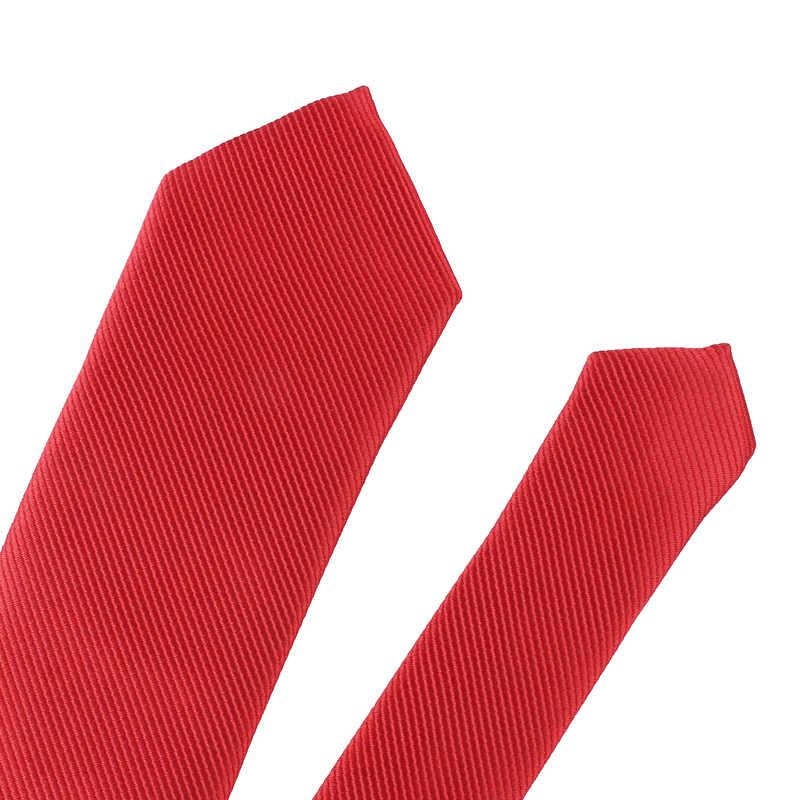 新しいための強固なカジュアルネクタイ Gravatas ビジネスメンズネクタイ Corbatas のための 6 センチメートル幅新郎ネクタイパーティー