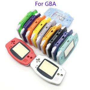 Image 5 - 20 個ハウジングシェルケースカバー + スクリーンレンズプロテクター + スティックラベルゲームボーイアドバンス Gba コンソール新 GBA ハウジング