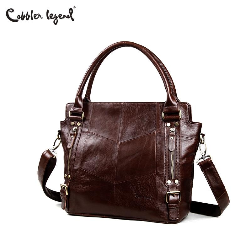 d36ff854adbf Сапожник Легенда Для женщин Сумки бродяга сумки дизайнер из натуральной  кожаные сумочки Женская мода большие вместительные