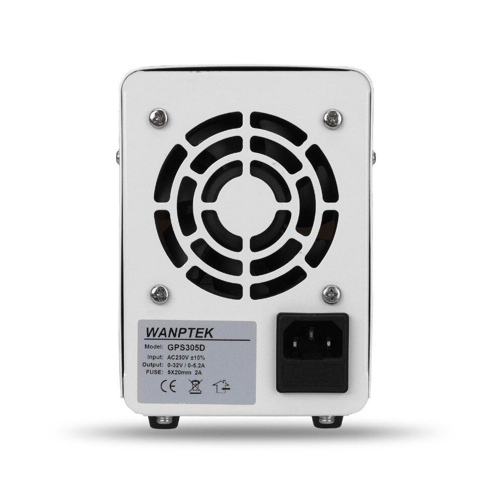 Wanptek DC Power Supply Adjustable Laboratory Voltage Regulator Bench Source Digital Power 30V 60V 5A 10A Output drop shipping