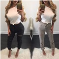 Fashion Hole Hollow Out Women Leggings Casual Sexy Women Cotton Knitted Women Pants Legins
