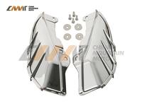 ABS Mid Frame Air Deflectors Trims case for Harley Davidson Electra Street Glide 09+