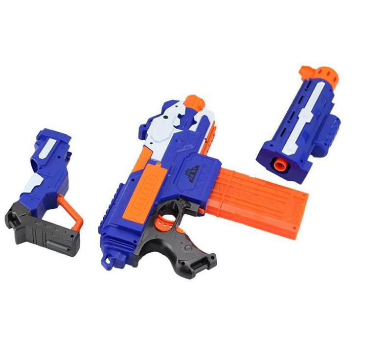Горячий Электрический игрушечный пистолет с мягкими пулями пистолет снайперская винтовка пластиковый пистолет Arme Arma игрушка для детей подарки подходит для игрушечного пистолета Nerf